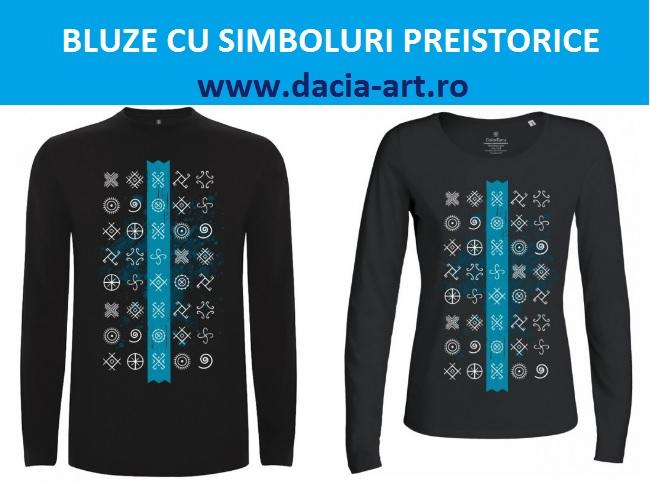 Bluze cu simboluri preistorice