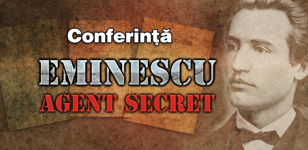 Banner conferinta Eminescu