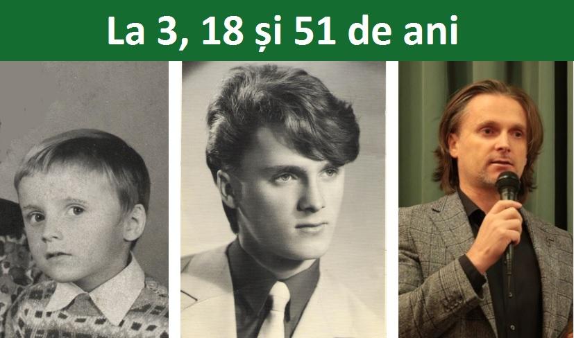 La 3, 18 si 51 de ani