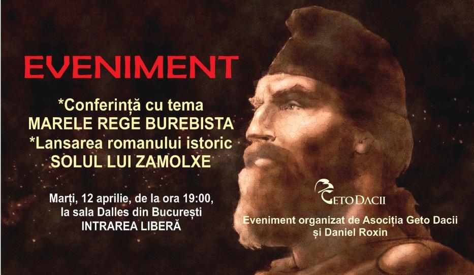 banner conferinta burebista