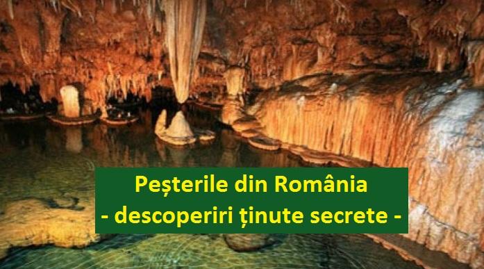 pestereile din Romania