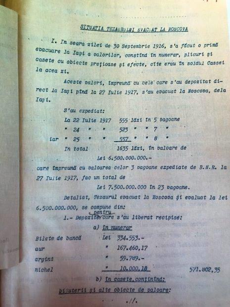 SItuatie tezaur document