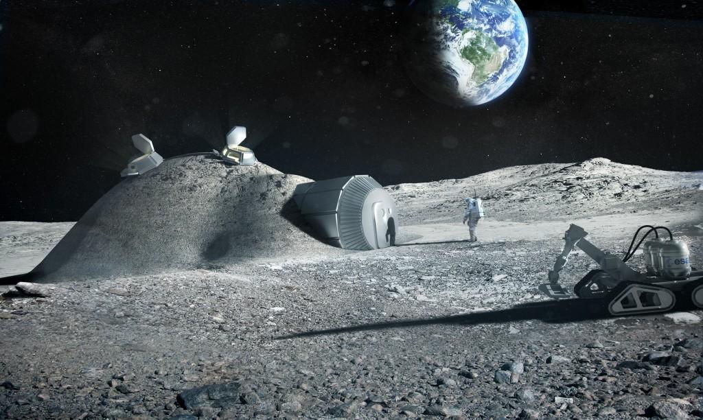 colonizarea lunii