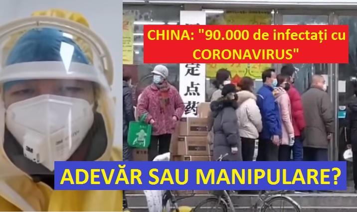 china 90000 de infectati cu coronavirus