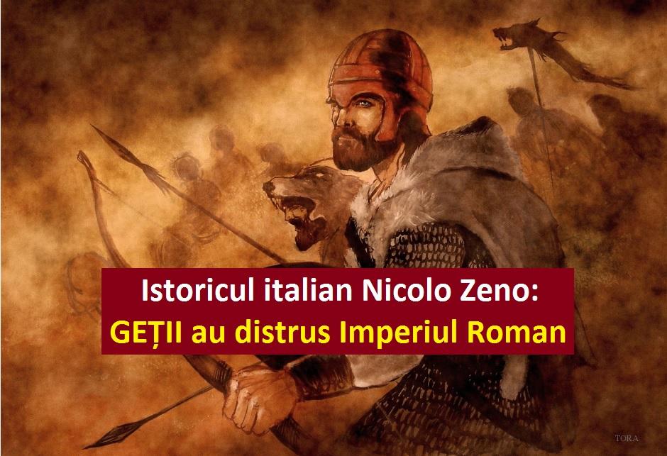 Nicolo zeno CARTILE GETILOR